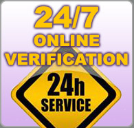 24/7 Verification